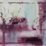 Shubert Death & the Maiden - Presto, acylic 20x25cm