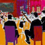 Prize Winners Inventus Wind Quintet performing in Leamington Art Gallery