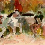 Quartet perform Martinu, w/colour 15x20cm SOLD